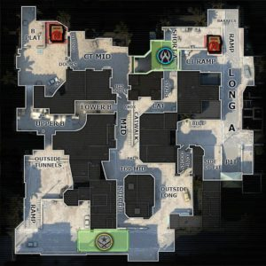CS GO Dust 2 Map Callouts