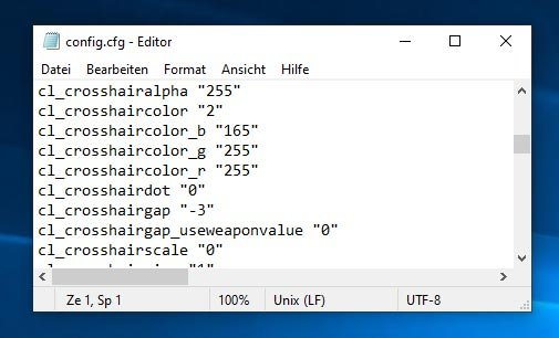 CS GO Text File Config