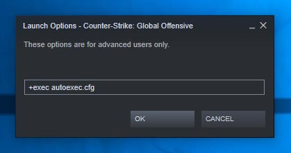 CS GO Autoexec Config File