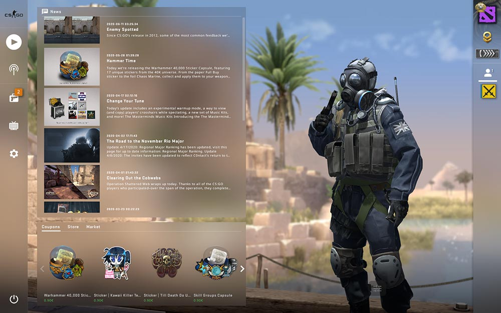 CS GO Menu Explained