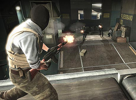 CS GO Shooter Screenshot