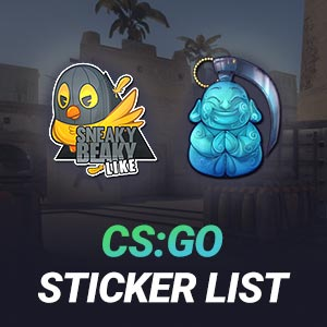 CS GO Sticker List