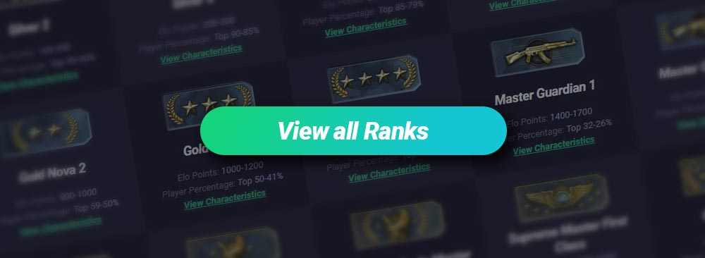 All CS GO Ranks