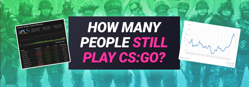 How many People Still Play CS:GO? (Player Count)