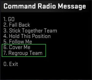 New Command Radio Messages