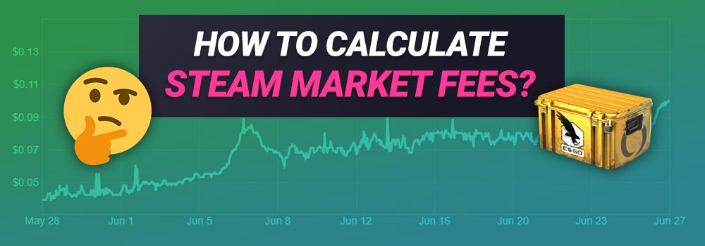 How to Calculate Steam Market Fees for CS:GO Items?