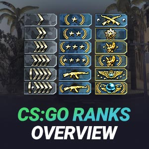 CSGO Ranks Overview